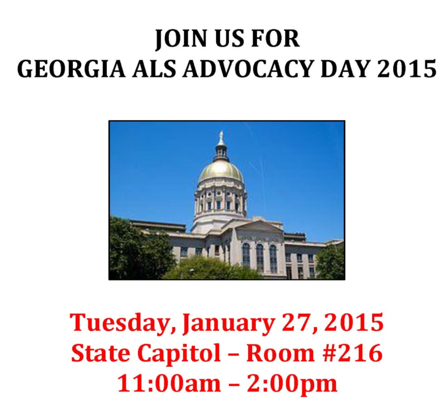 2015 GA ALS Advocacy Day