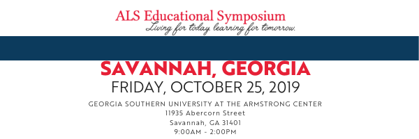 2019 Savannah Symposium